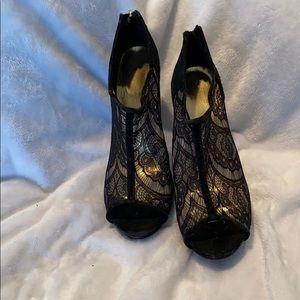 Shoes - Peep toe heels